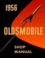 OLDSMOBILE 1956 Shop Manual Super 88, Olds 88 & 98 Service Repair manual in PDF!