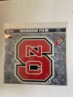 North Carolina State Wolfpack SD 12xPerforated Auto Window Film Decal University