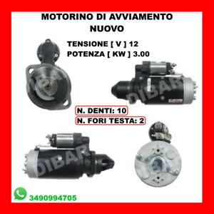 Anlasser Neu Traktoren John Deere 0001369001 Von 1971 Al 2002 10