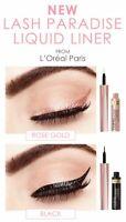 L'Oreal Paris Voluminous Lash Paradise Liquid Eyeliner Rose Gold or Black Choose