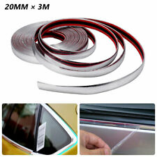 3M Car SUV Chrome DIY Moulding Trim Strip For Grille Window Door Bumper Install