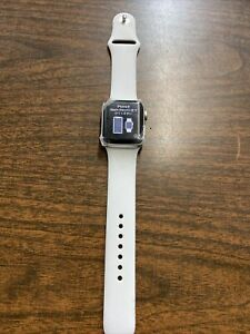 Apple Watch Series 3 LTE - Silver with Sport Band (GPS + Cellular) - Please Read