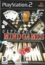 ULTIMATE MIND GAMES for Playstation 2 PS2 - with box & manual - PAL