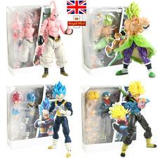 SHF Dragon Ball Super Broly Vegeta Buu Trunks Action Figure DBZ Goku Toy Gift UK