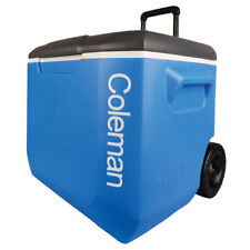 NEW Coleman 57L Branded Wheeled Cooler By Anaconda