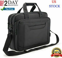 Laptop Briefcase Computer Bag Business Messenger Case Portfolio Tablet Sleeve