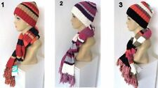 Acrylic Striped Scarves & Wraps for Women