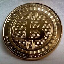 Goldene  Münze / Medaille 1 B-Coin - Silk Road  (vergoldet)