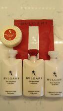 Bvlgari Sampler Set - Body Lotion (2x), Conditioner, Soap, Bath Tea (7x)