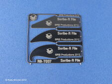 RB-37 Scribe-R File Panel Engraving Tools: 3 different shapes