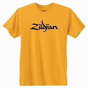 Zildjian Cymbals Logo T-Shirt.  Music Drums Band