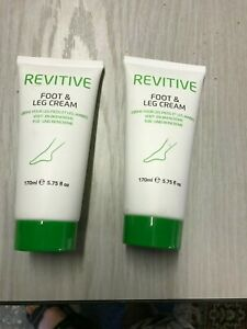 2 X Revitive Foot and Leg Gel Moisturizer Cream Revitive Circulation Booster