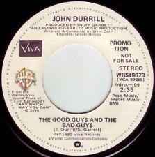 JOHN DURRILL The Good Guys & The Bad Guys ((**NEW 45 DJ**)) from 1980 Movie