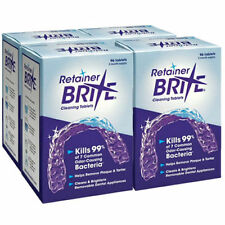 RETAINER BRITE 1 YEAR SUPPLY | 384 RETAINER BRITE TABLETS Fresh FREE Shipping