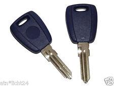 Fiat Schlüssel Rohling Schlüsselrohling Reparatur Gehäuse Not Ersatz  TYP B NEU