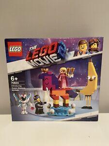 LEGO The Lego Movie 2 Queen Watevra Wa'nabi (70824) BRAND NEW!