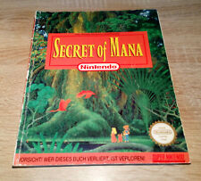 Super Nintendo SNES // Secret of Mana - Spieleberater / dt. (Lösungsbuch)