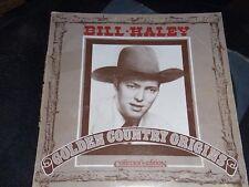 "Vintage Vinyl 1977 BILL HALEY ""Golden Country Origins"" 9288 100 Collector's Ed."