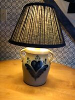 Rowe Pottery Lamp Complete with Shade