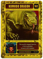 Komodo Dragon #162 Marvel 2003 Genio TCG CCG Card (C314)