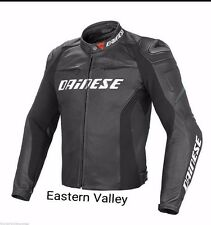 New Mens DAINESE Motorcycle Racing Biker 100% Cowhide Leather Jacket CustomMADE