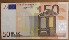Introvabile!!! Banconota euro 50 Italia Duisenberg PRIMA STAMPA 16