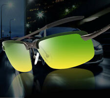 Mens Women Day Night Vision Driving Glasses HD Polarized Sunglasses Eyewear New