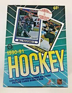 1990-91 O Pee Chee 🏒 NHL Hockey Factory Box 🔥 SEALED -  ROOKIES!