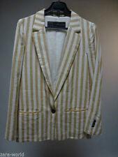 Zara Casual Button Cotton Coats & Jackets for Women