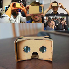 3D Cardboard Virtual Reality Headset Glasses TV Glasses for iPhone HTC
