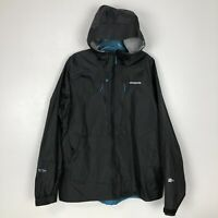 Patagonia Womens Minimalist Jacket Fly Fishing Waterproof Forge Grey Hooded $199