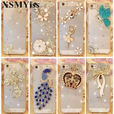 For Samsung S21 S20 S10 Note20 10 8 Note9 Bling Glitter Rhinestone Diamond Case