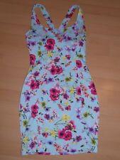 Women's Pull & Bear blue floral Dress flower - MEDIUM VGC