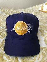 Vintage Los Angeles Lakers Plain Logo NBA Snapback Hat