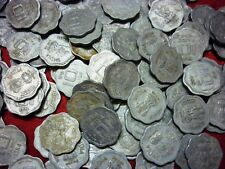 10 paise ~~ 1983-1993 ~~ aluminium coin ~~ 100 COIN LOT ~~ small type