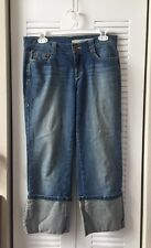 DKNY JEANS WOMEN'S RELAXED COTTON BLUE SIZE 6