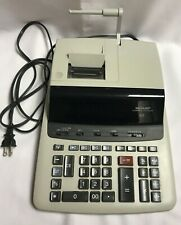 Sharp Compet VX-2652H Electronic Printer Calculator Desktop Large Keys Works