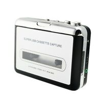 USB Cassette Tape to MP3 iPod CD Converter Capture Audio Music Player【USA】