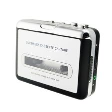 New USB Cassette Tape to MP3 iPod CD Converter Capture Audio Music Player