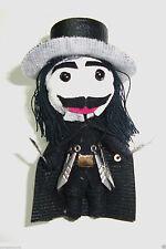 V for Vendetta, String Doll Voodoo, Lucky Charm Key Ring, Guy Fawkes Handmade