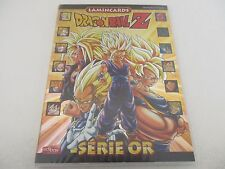 Lot Cartes DBZ DRAGON BALL Z LAMINCARDS série Or Gold set 48/212 Edibas 2009 Fr