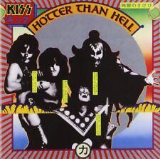 KISS HOTTER THAN HELL 1997 CD HARD ROCK HEAVY METAL NEW