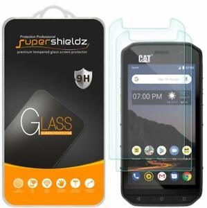 [2-Pack] Supershieldz Tempered Glass Screen Protector for Cat S48c