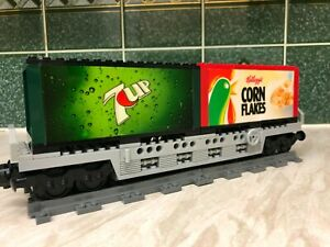 Lego Train Double Container Wagon (7UP)