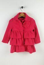 CHEROKEE Hot Pink Ruffle Jacket Coat size 18 months