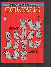 Cerebus #20 ~ 1980 Aardvark Vanaheim ~ (9.0) Wh