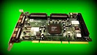 Adaptec SCSI-Controller ASC39160 PCI-SCSI-Adapter Ultra160 PCI3.0 PCI 2 - Kanal