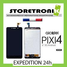 """ÉCRAN LCD + VITRE TACTILE ASSEMBLÉE ALCATEL PIXI 4 ( 6"""" ) OT-8050 8050D NOIR"""