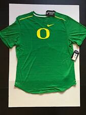 Nike Oregon Ducks Men's Player Top T-Shirt Green Heather Size XL