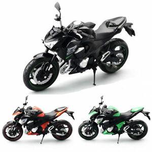1:12 Scale Kawasaki Z800 Motorcycle Model Plastic Motorbike Toy Models Kids Gift